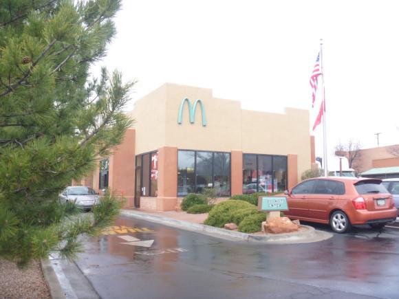 「藍牌」麥當勞