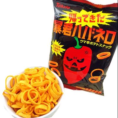 Tohato暴君超級香辣薯圏